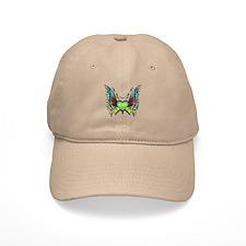 Amazing Butterfly Winged Hear Baseball Cap