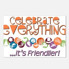 Celebrate Everything Postcards (Package of 8)