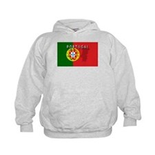 Portugal Flag Extra Hoody
