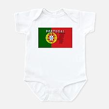 Portugal Flag Extra Infant Bodysuit