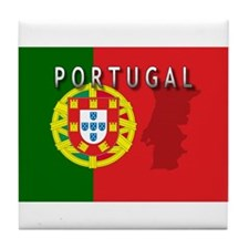 Portugal Flag Extra Tile Coaster