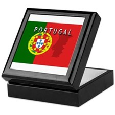 Portugal Flag Extra Keepsake Box