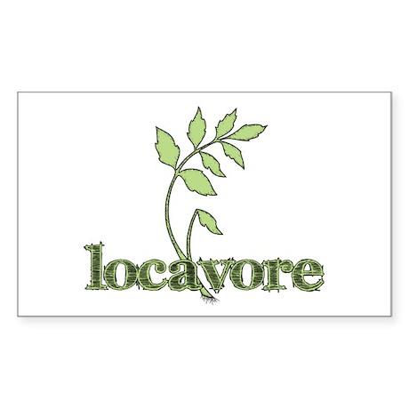 Green designs Sticker (Rectangle)
