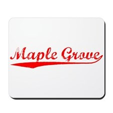 Vintage Maple Grove (Red) Mousepad