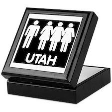Utah Polygamy Keepsake Box