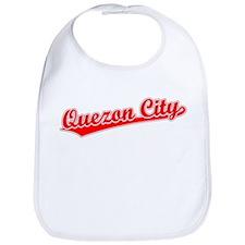 Retro Quezon City (Red) Bib