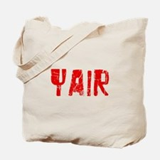 Yair Faded (Red) Tote Bag