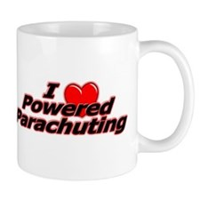 """I Heart Powered Parachuting"" Mug"