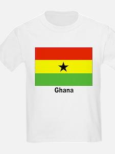 Ghana Flag (Front) Kids T-Shirt
