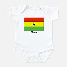 Ghana Flag Infant Creeper