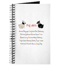 Pug ABC's Journal