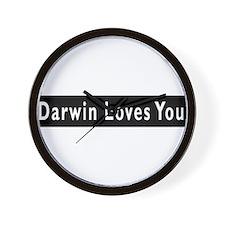 Funny Darwinism Wall Clock