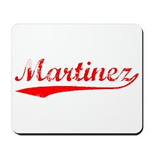 Vintage Martinez (Red) Mousepad
