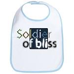 Soldier of Bliss Bib