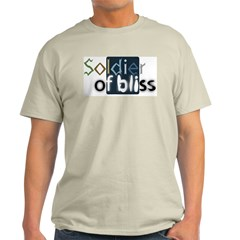 Soldier of Bliss Ash Grey T-Shirt