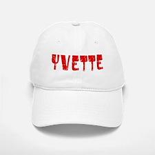 Yvette Faded (Red) Baseball Baseball Cap