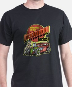 Take Pride in the Oxide Rat Rod Pinup T-Shirt