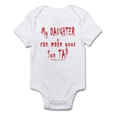 Daughter son tap Body Suit