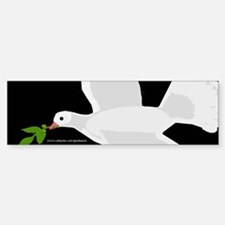 Peace Dove Bumper Bumper Bumper Sticker
