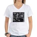 Faust 41 Women's V-Neck T-Shirt