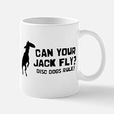 Disc Dog Jack Russell Terrier Mug