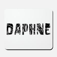 Daphne Faded (Black) Mousepad