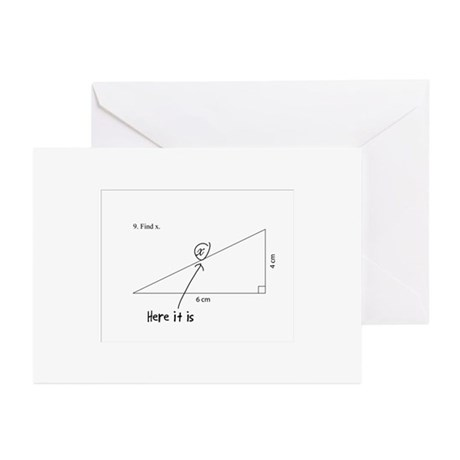 Find X Greeting Cards (Pk of 10)
