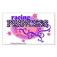 Racing Princess 4 Rectangle Decal