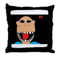 Being Tan Throw Pillow