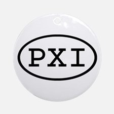 PXI Oval Ornament (Round)
