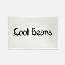 Cool Beans Rectangle Magnet