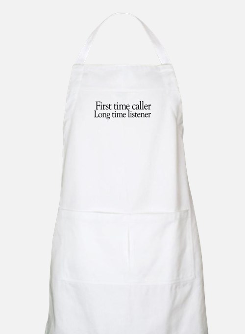 First time Long time BBQ Apron