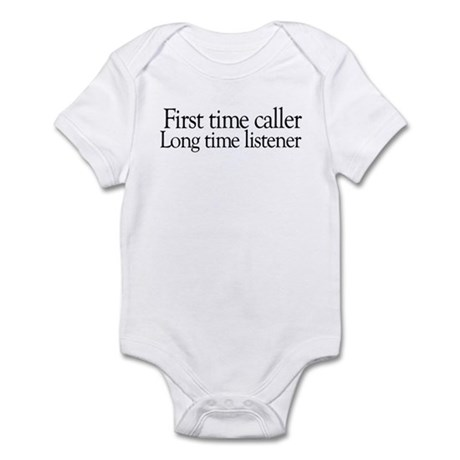 First time Long time Infant Bodysuit