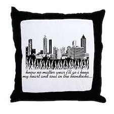 Boondocks Throw Pillow