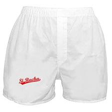 Retro Si Racha (Red) Boxer Shorts