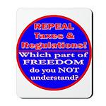 Repeal Taxes#1c Mousepad