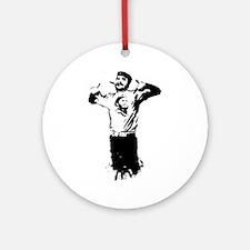 Che Guevara Stencil Ornament (Round)
