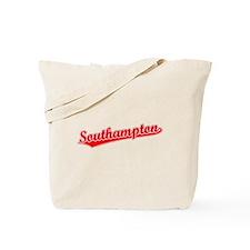 Retro Southampton (Red) Tote Bag