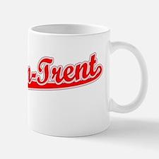 Retro Stoke-on-Trent (Red) Mug