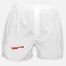Retro Stoke-on-Trent (Red) Boxer Shorts