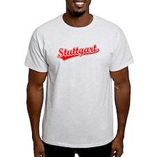 Retro Stuttgart (Red) T-Shirt
