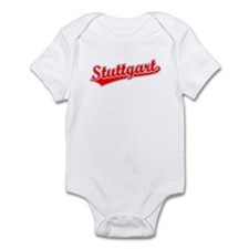 Retro Stuttgart (Red) Infant Bodysuit