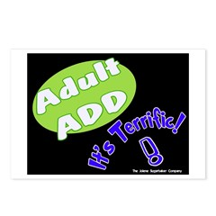 Adult ADD Postcards (Package of 8)