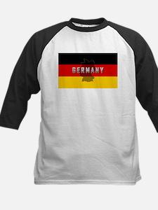 Germany Flag Extra Kids Baseball Jersey