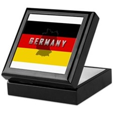 Germany Flag Extra Keepsake Box