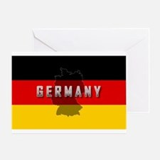 Germany Flag Extra Greeting Card