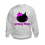 Pretty Kitty Kids Sweatshirt