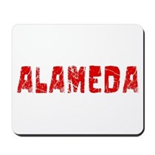Alameda Faded (Red) Mousepad