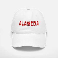 Alameda Faded (Red) Baseball Baseball Cap
