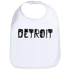 Detroit Faded (Black) Bib